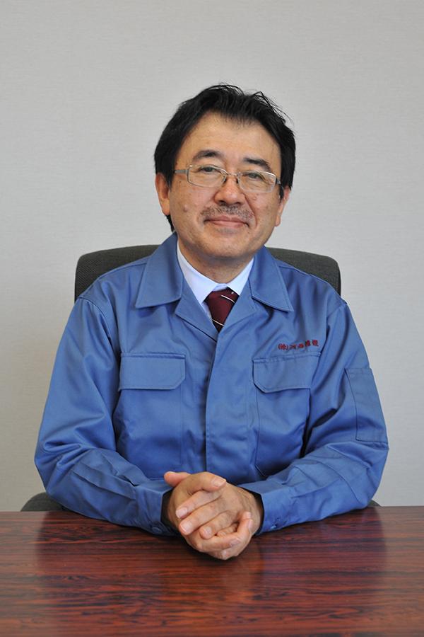 Katsuji Kasai, president & representative director